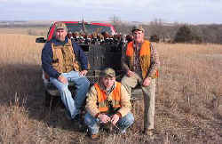 Pheasant Hunting in North Central Kansas